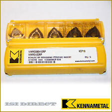 WNMG 433 RP 080412RP KCP10 KENNAMETAL *** 5 INSERTS *** FACTORY PACK ***