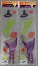 2 Packs of Disney Halloween Tinkerbell Gel Cling (H-69)