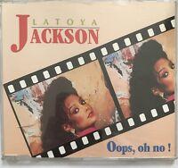 LATOYA JACKSON : OOPS, OH NO ! - [ CD MAXI ]