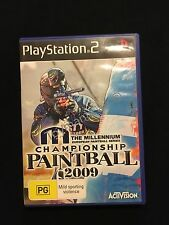 PlayStation 2 Championship Paintball 2009 Game