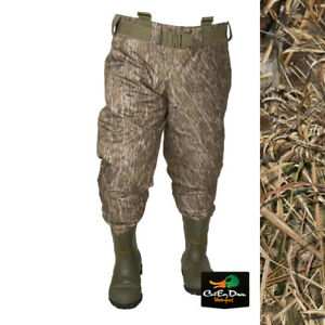 NEW BANDED GEAR REDZONE RZ-X 1.5 TWO TONE BREATHABLE INSULATED CAMO WAIST WADERS