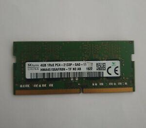 SK Hynix 4GB 1x4GB DDR4 2133MHz PC4-2133P 1700 260pin Laptop RAM Memory SODIMM