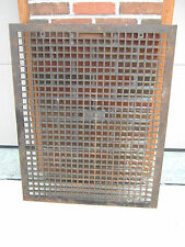 Antique/Vintage Cast Iron/Steel Floor Grate Large 30 X 38 Vent Heavy Metal
