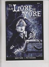 Ye Old Lore of Yore #1 VF- pre-dates cursed pirate girl #1 jeremy bastian 2005