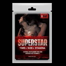 Sex Pills SUPERSTAR Male Enhancement Erectile Sexual 2 Bag = 12 Pills
