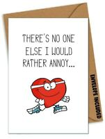 Funny VALENTINES LOCKDOWN ANNIVERSARY Card Boyfriend Husband Girlfriend Wife /DK