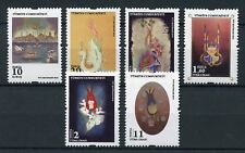 Turkey 2016 MNH Art 6v Set Paintings Stamps