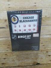 New NHL Chicago Blackhawks Bingo Set Game 20 Cards Hockey Fan Gift Sealed