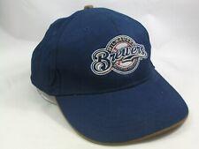 Milwaukee Brewers Hat Blue Hook Loop MLB Baseball Cap