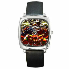 ultimate anime New Getter Robo boys girls mens womens  leather wrist watch