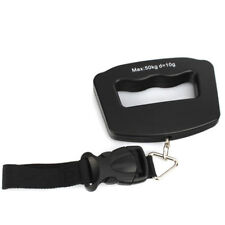 Portable Stainless Steel Digital Luggage Scale 50KG STRAP (2212)