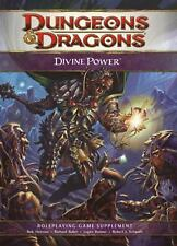 Dungeons and Dragons 4th Ed --DIVINE POWER Supplement Hardcover -- HC
