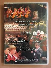 Scotch College Melbourne 157th Foundation Day Concert 2DVDs 2008
