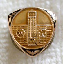 Vintage 10k Gold Sears Employee Service Award Pin Tie Tack Merchandise Tower