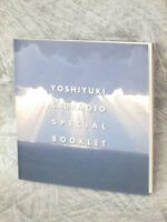 YOSHIYUKI SADAMOTO Special Booklet Art Illustration Book Evangelion 2014 Ltd