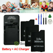 3600mAH BATTERY PACK FOR PSP 2000 2001 3000 3001 3003 3004 lite / WALL Charger