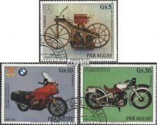 Paraguay 3821-3823 (kompl.Ausg.) gestempelt 1984 100 Jahre Motorräder EUR 1,70