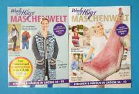 Woolly Hugs Maschenwelt Doppelpack 01/2021 Stricken&Häkeln in Größe 36-52   NEU