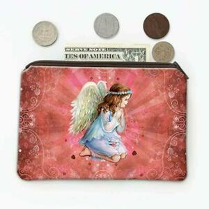 Gift Coin Purse : Angel Praying Catholic Religious Esoteric Victorian