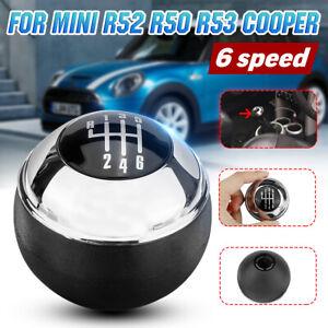 For MINI COOPER R50 R52 R53 3 Doors Manual 6 Speed Car Gear Shift Knob Head AU