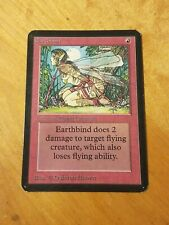 Earthbind - Magic the Gathering MTG Limited Edition Alpha Nice!