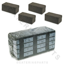 PACK OF 5 x LARGE GRILL-BRICK PUMICE GRIDDLE CLEANING STONES 200 x 100 x 90mm