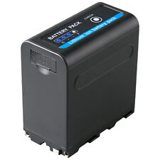Akku für Sony NP-F980 | 7850mAh |65234| NP-F750 | mit 5V USB Ausgang und DC 8,4V