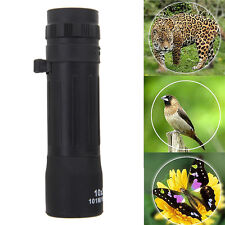 10*25 Zoom Optical Lens Night Vision Monocular Telescope Scope Hunting Binocular