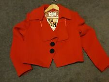 Trelise Cooper Bloody Mary Portland size 16 jacket as new