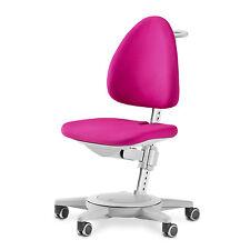 moll Kinderdrehstuhl Maximo Gestell grau Sitzbezug pink