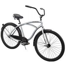 "Huffy 26"" Cranbrook Men's Beach Cruiser Comfort Bike, Silver (Brand new, in box)"