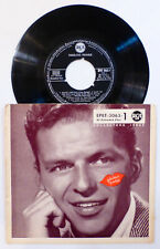 """Sinatra """"FABULOUS FRANKIE"""", Night and Day / Fools Rush In, East of the Sun, 45RP"""
