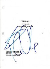 ICE CUBE SIGNED 'FRIDAY' FULL MOVIE SCRIPT SCREENPLAY w/COA ACTOR RAPPER NWA