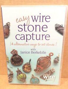 DVD Easy Wire Stone Capture, Setting Stones, Berkebile, 2013, SEALED!