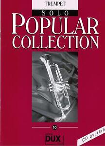 Trompete Noten : Popular Collection 10  (Solo) leichte Mittelstufe
