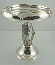 AMERICAN STERLING DECO STYLE PEDESTAL DISH BY MICHAEL C FINA CO INC NEW YORK