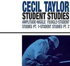 "CECIL TAYLOR ""Student Studies"" (CD 2003) 1966 Lyons/Silva/Cyrille **EXCELLENT**"