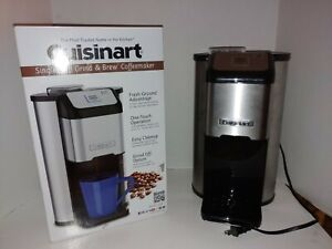 Cuisinart Single Cup Grind & Brew Coffeemaker Stainless Steel