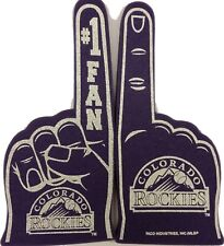 MLB Colorado Rockies Foam Finger, NEW