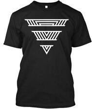 Abstract Upside Down Pyramid Hanes Tagless Tee T-Shirt