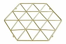 Vertex Gold Trivet - Hot Plate Surface Protector Stand
