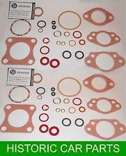 "2 x 1½"" H4 SU Carburettor GASKET & SEAL SETS for MGA 1500 1489cc 1955-59"