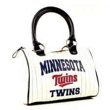 MLB Minnesota Twins Purses - White CHEER Bag