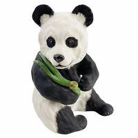"Vintage Boehm Panda Seated Figurine Statue 40237 Bamboo Porcelain 5 1/4"" Tall"