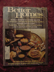 Better Homes and & Gardens NOVEMBER 1973 Home Building Decorating Gardening