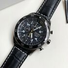 SNDG61P1 Chronograph Black Dial Black Leather Watch for Men COD PayPal <br/> SEIKO, COD, Free Ship, Meet Up, PayPal Accepted
