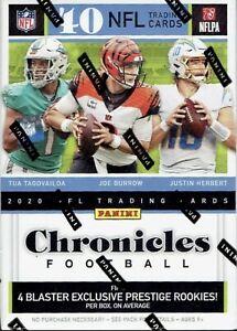 2020 Panini NFL Chronicles Football Blaster Box - BRAND NEW AND SEALED