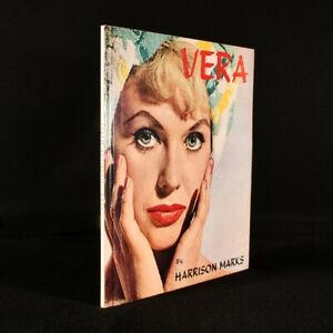 1962 Vera A Study of a Beautiful Girl Harrison Marks Illustrated Colour Plate...