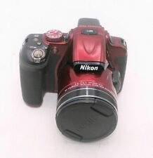 Nikon Coolpix P600 16.0MP 3''Screen 60x Zoom Digital Camera - Red