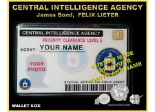 CIA id CARD   movie OO DIVISION Collector ID card LIMIT TIME free ID badge